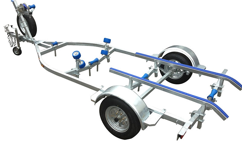 Swiftco 4 Metre Boat Trailer Skid Type