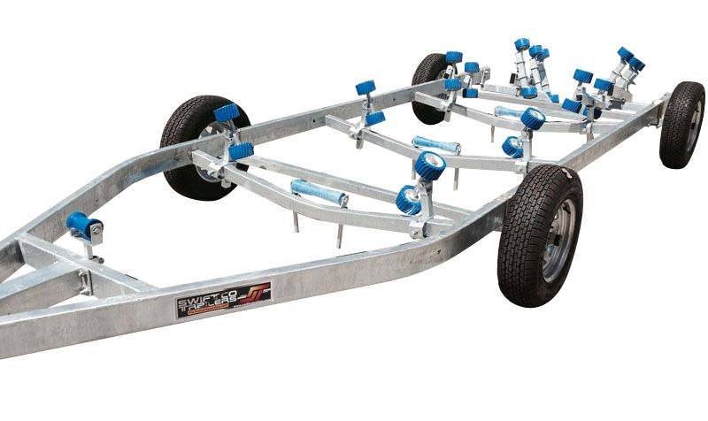 Swiftco 8.00 Metre Ramp Dolly Trailer